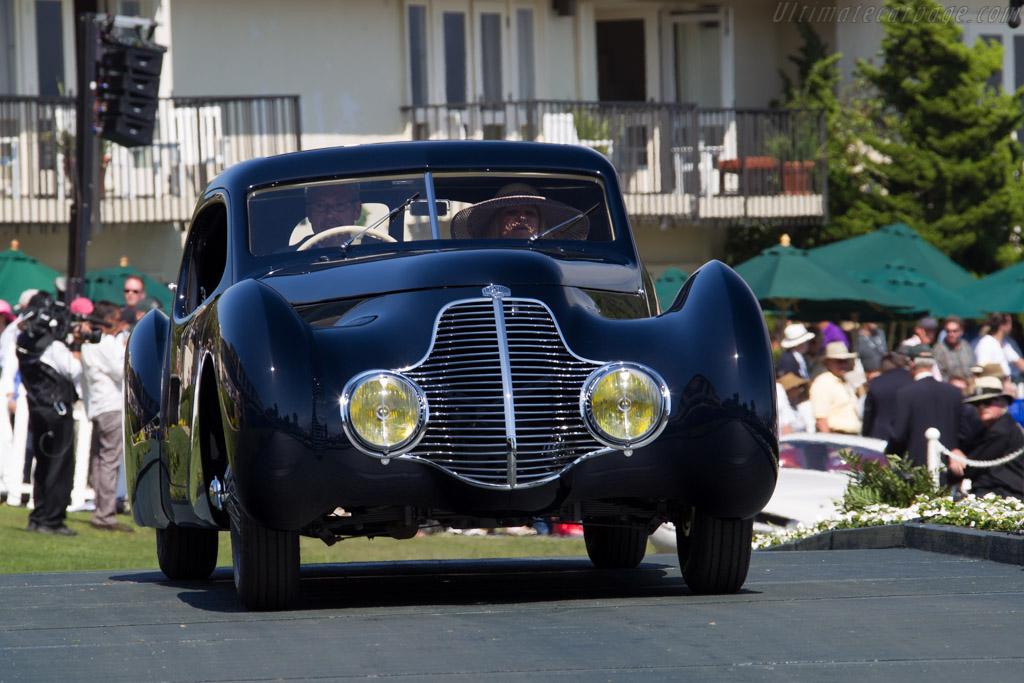 Delahaye 135 MS Pourtout Coupé Aérodynamique - Chassis: 800382   - 2015 Pebble Beach Concours d'Elegance
