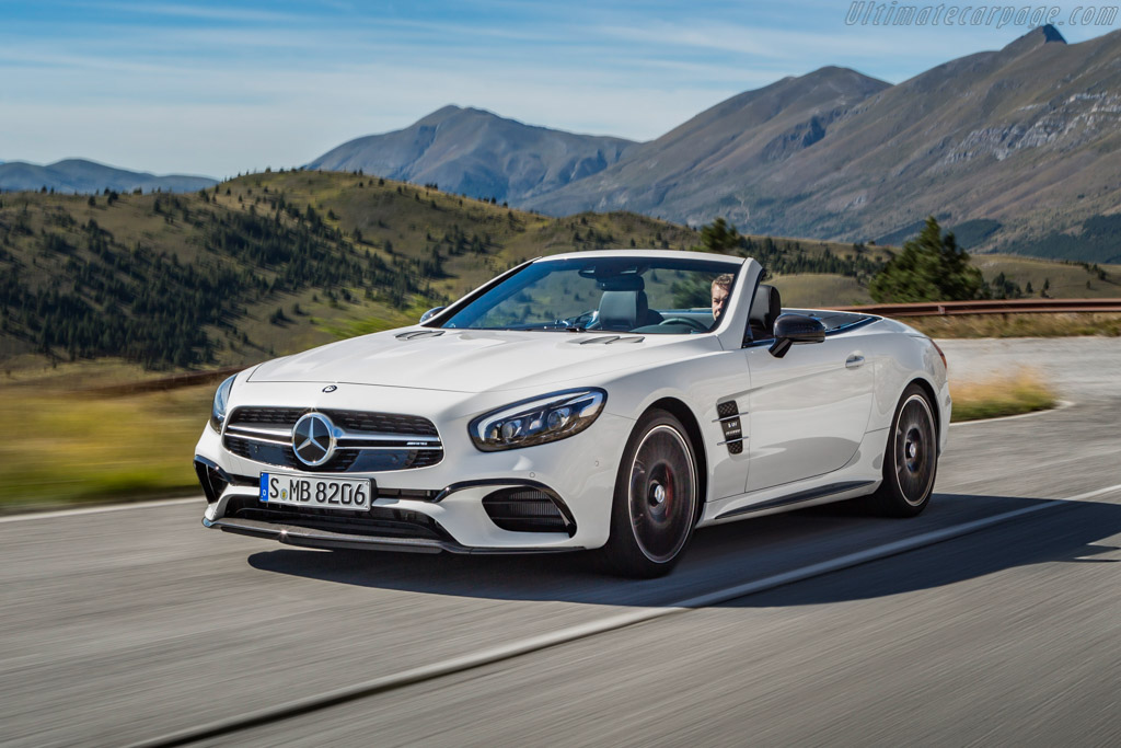 2016 Mercedes Amg Sl 63 Images Specifications And