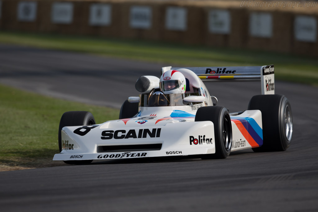 March 782 BMW - Chassis: 782-S1 - Driver: Johnny Cecotto  - 2015 Goodwood Festival of Speed