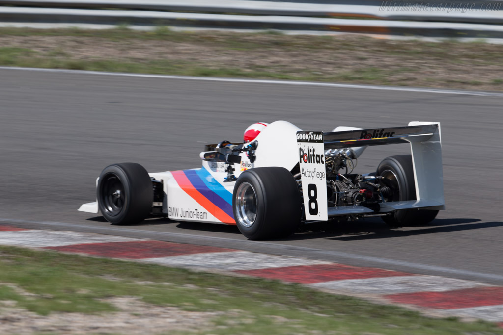 March 782 BMW - Chassis: 782-S1 - Driver: Marc Surer  - 2015 Historic Grand Prix Zandvoort