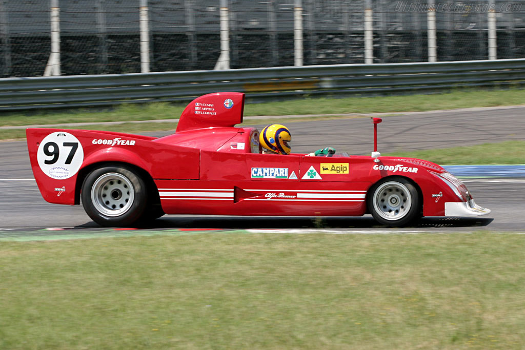 Alfa Romeo 33/TT/12 - Chassis: AR 11512-012   - 2005 Le Mans Series Monza 1000 km