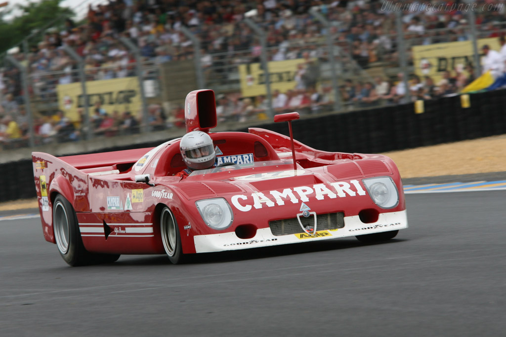 alfa romeo 33 tt 12 chassis ar 11512 012 2006 le mans classic. Black Bedroom Furniture Sets. Home Design Ideas