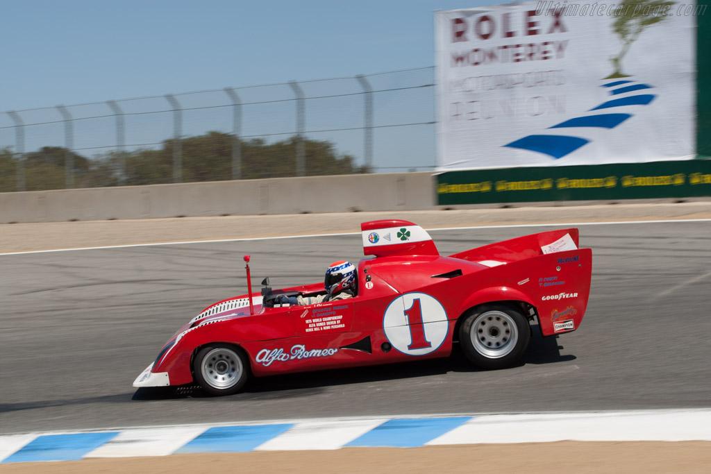 Alfa Romeo 33/TT/12 - Chassis: AR 11512-010   - 2012 Monterey Motorsports Reunion