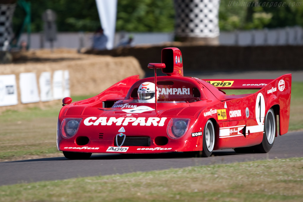 Alfa Romeo 33/TT/12 - Chassis: AR 11512-006   - 2009 Goodwood Festival of Speed