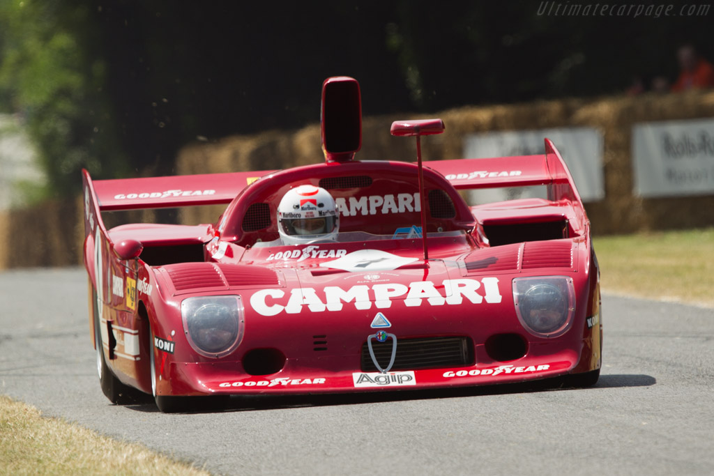 Alfa Romeo 33/TT/12 - Chassis: AR 11512-006   - 2013 Goodwood Festival of Speed
