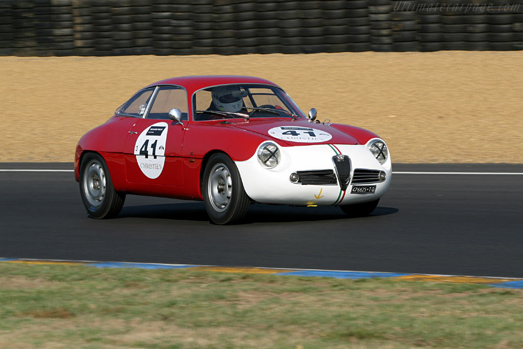 Click here to open the Alfa Romeo Giulietta SZ Coda Tonda gallery