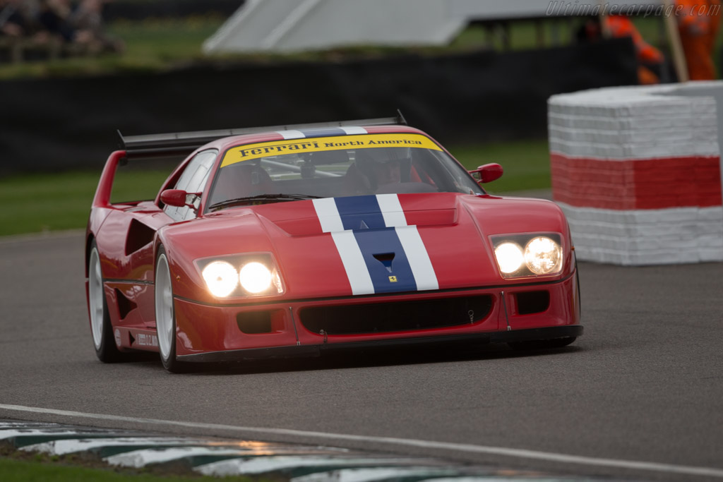 Ferrari F40 Lm Chassis 97893 Driver Christopher