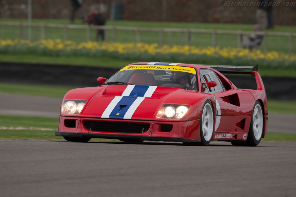 Ferrari F40 LM - Chassis: 97893 - Driver: Christopher Wilson  - 2017 Goodwood Members' Meeting