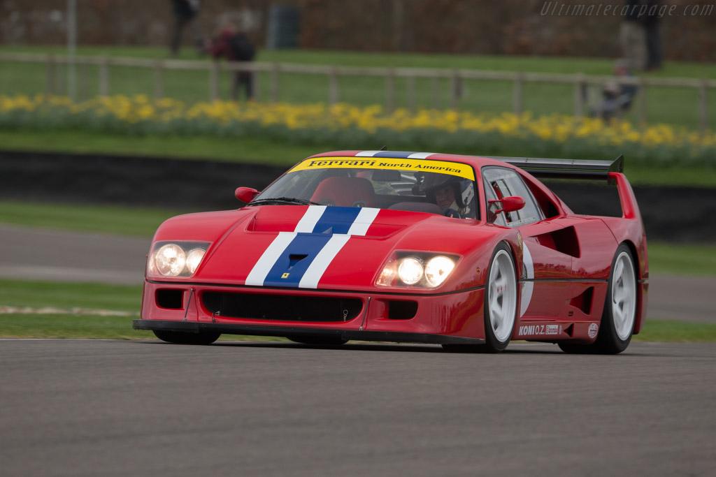 1993 Ferrari F40 Lm Chassis 97893 Ultimatecarpage Com