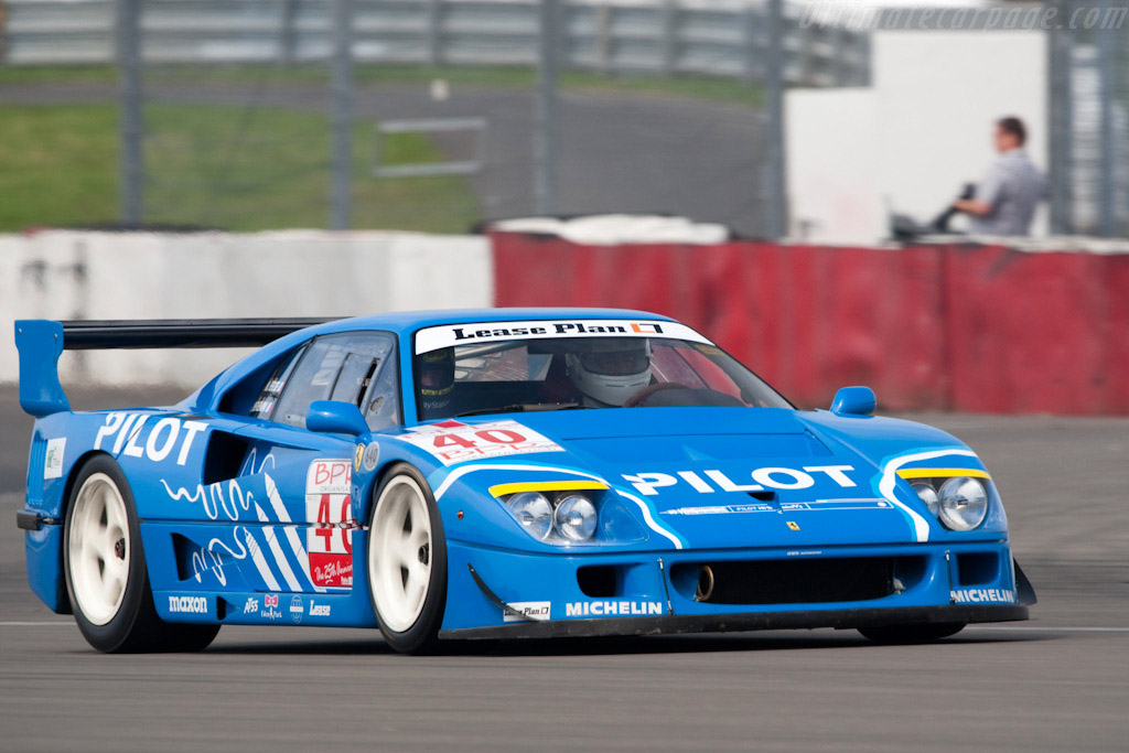 1989 1994 ferrari f40 lm images specifications and. Black Bedroom Furniture Sets. Home Design Ideas