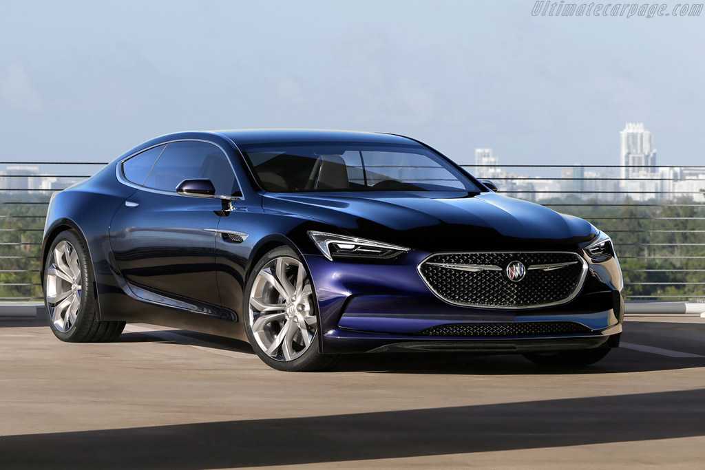 Click here to open the Buick Avista Concept gallery