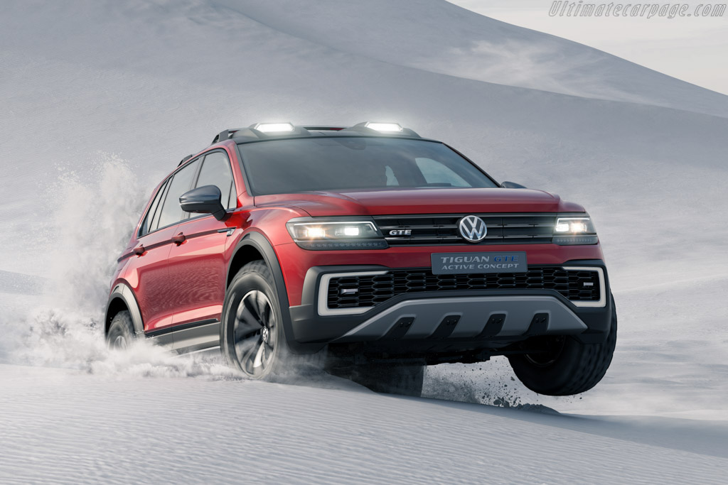 Click here to open the Volkswagen Tiguan GTE Active Concept gallery
