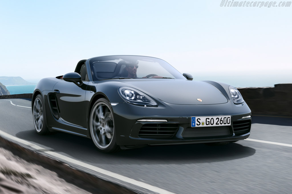 Click here to open the Porsche 718 Boxster gallery