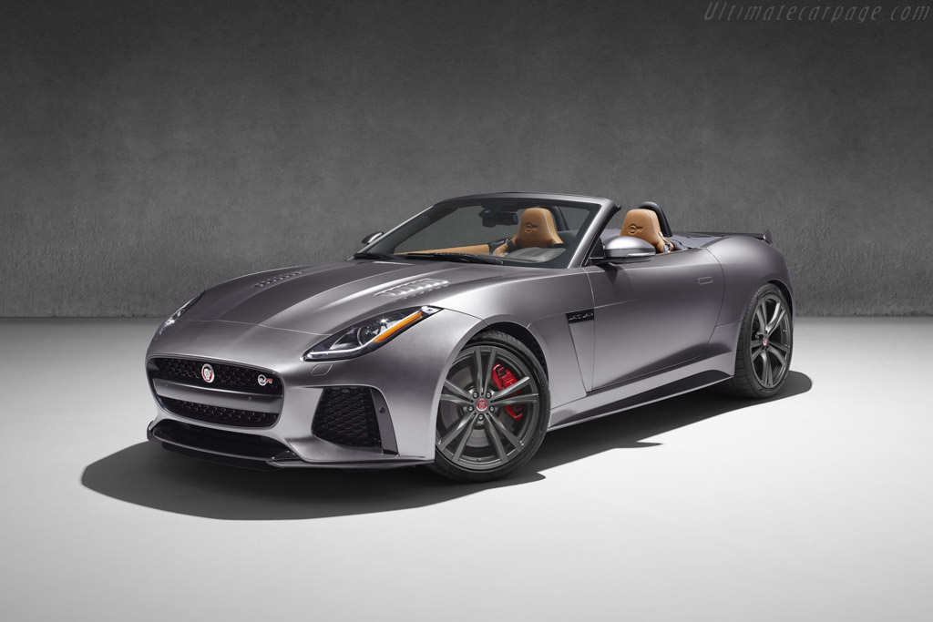 2016 Jaguar F-Type SVR Convertible - Images, Specifications and Information