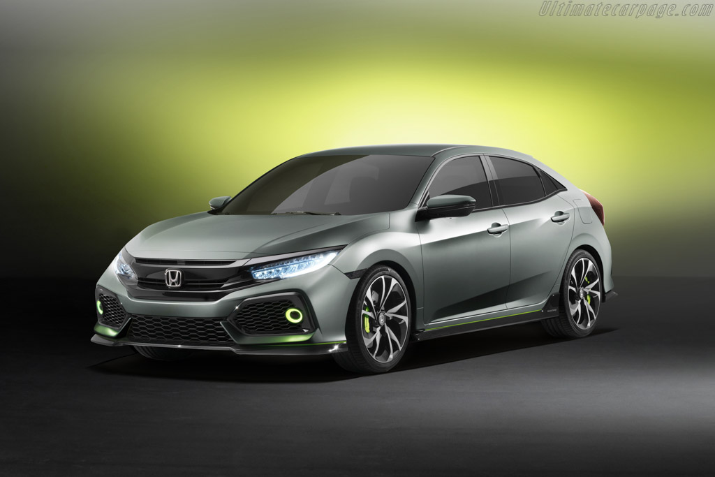 Click here to open the Honda Civic Hatchback Prototype gallery