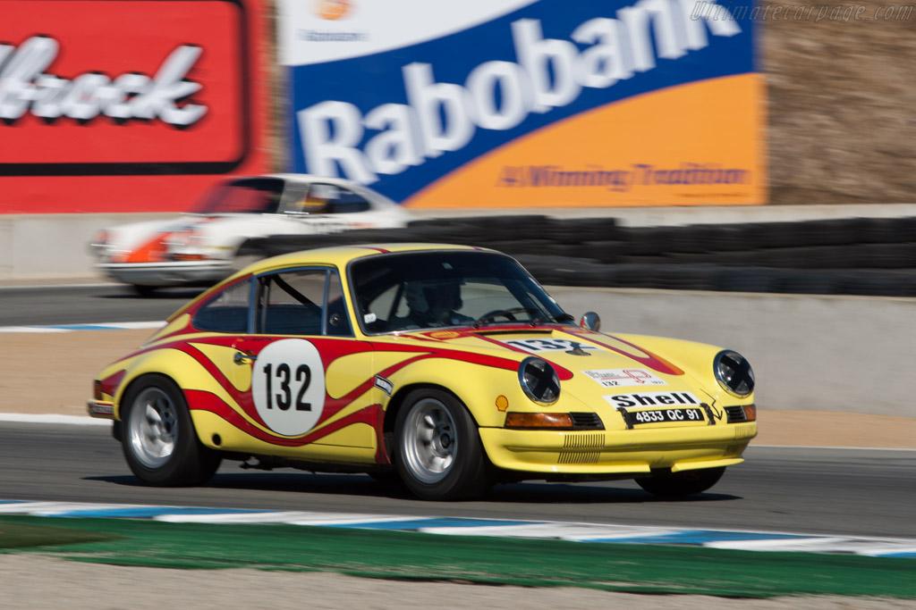 Porsche 911 ST 2.3 - Chassis: 911 030 0949 - Driver: Jurgen Barth  - 2013 Monterey Motorsports Reunion