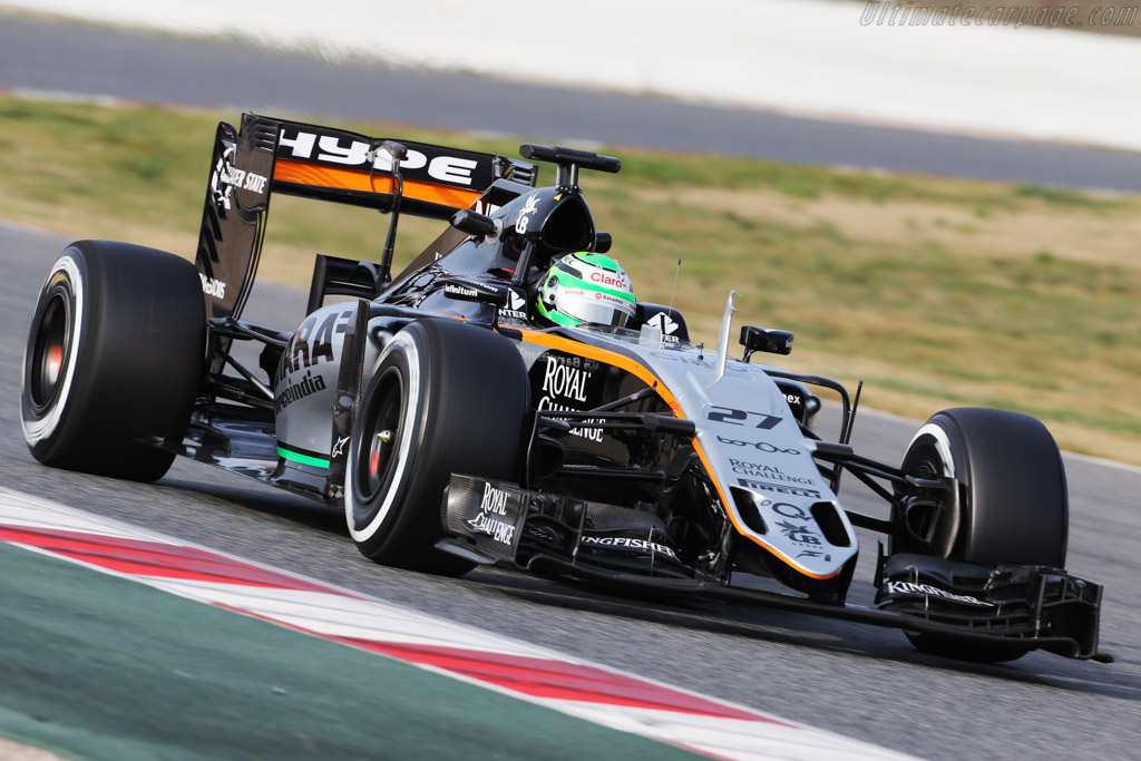 Click here to open the Force India VJM09 Mercedes gallery