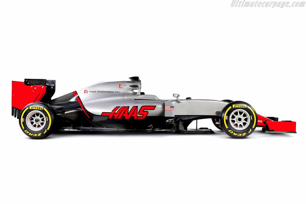 Haas Vf 16 Ferrari
