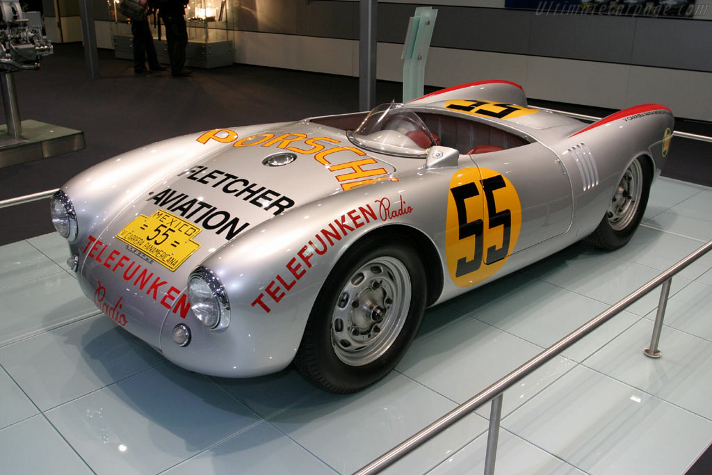 1954 1955 Porsche 550 Rs Spyder Images Specifications And