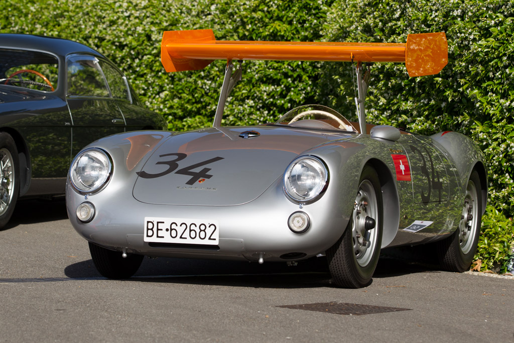 1955 Porsche 550 Rs Spyder Chassis 550 0031