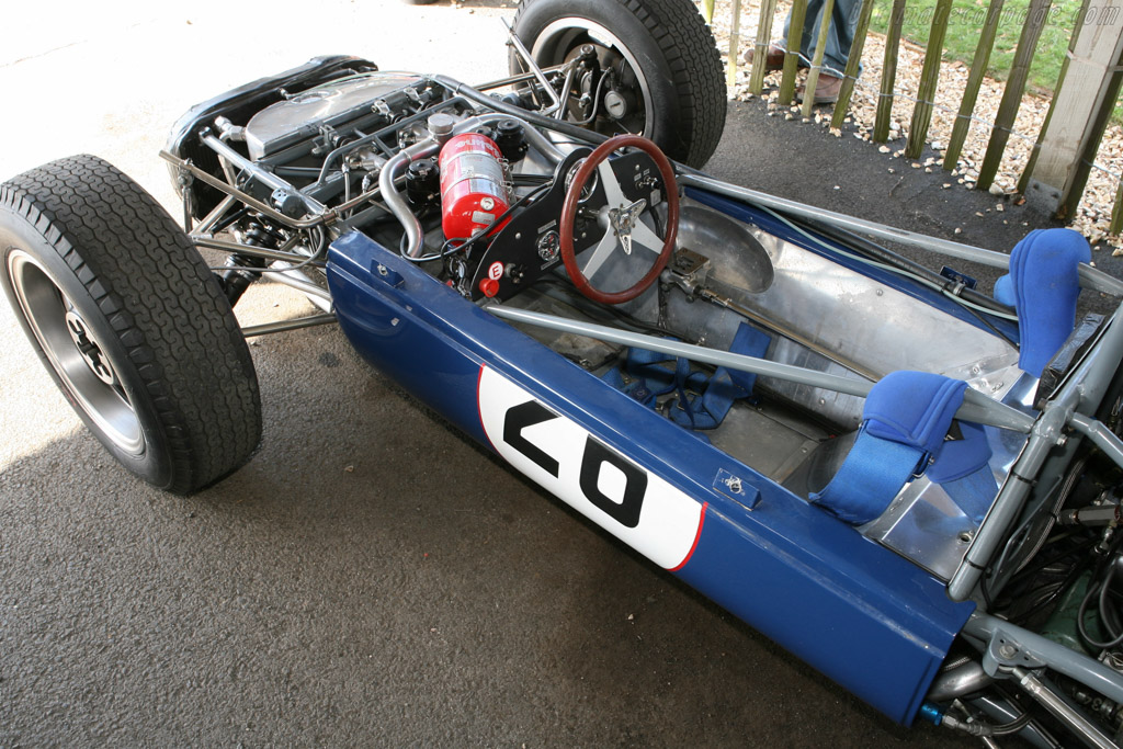 Scirocco SP1 BRM - Chassis: SP-1-63   - 2006 Goodwood Revival