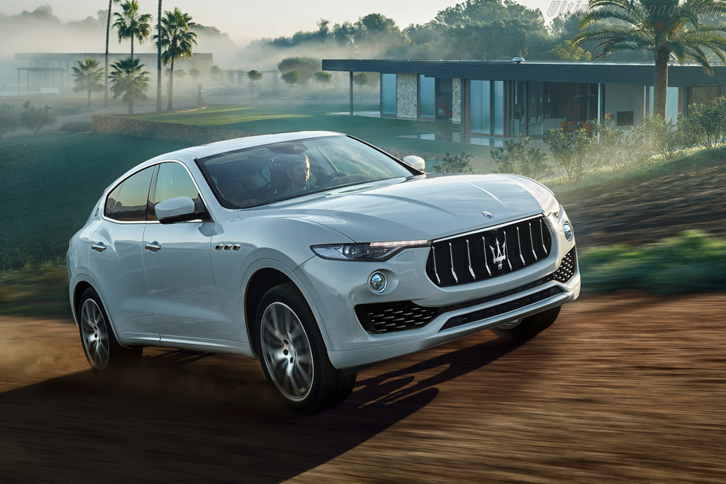 Click here to open the Maserati Levante gallery