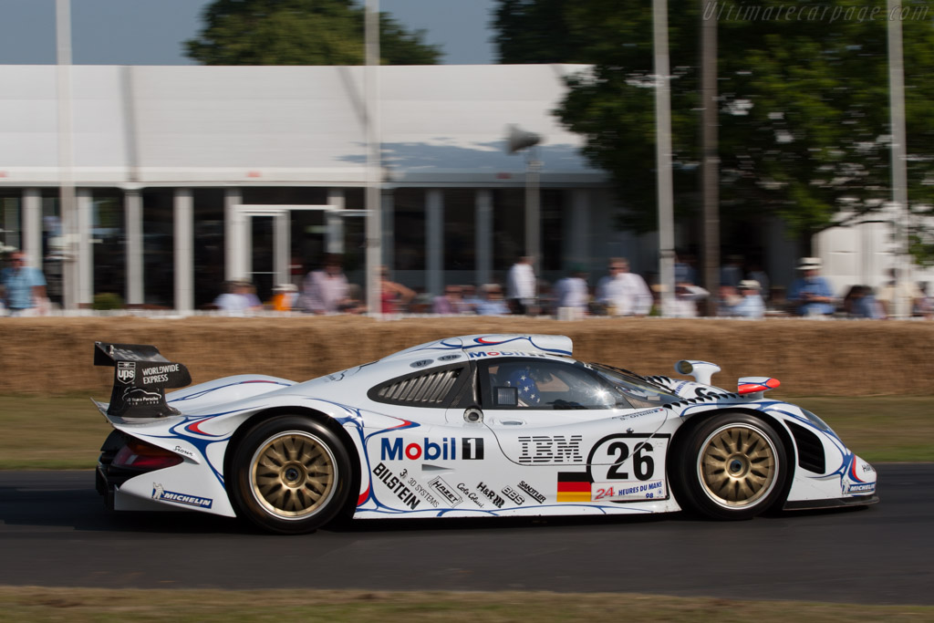 porsche 911 gt1 39 98 chassis gt1 98 003 2013 goodwood festival of speed high resolution image. Black Bedroom Furniture Sets. Home Design Ideas