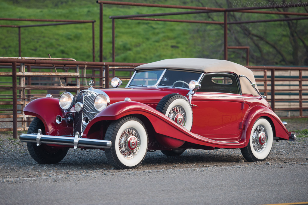 Click here to open the Mercedes-Benz 540 K Spezial Cabriolet A gallery
