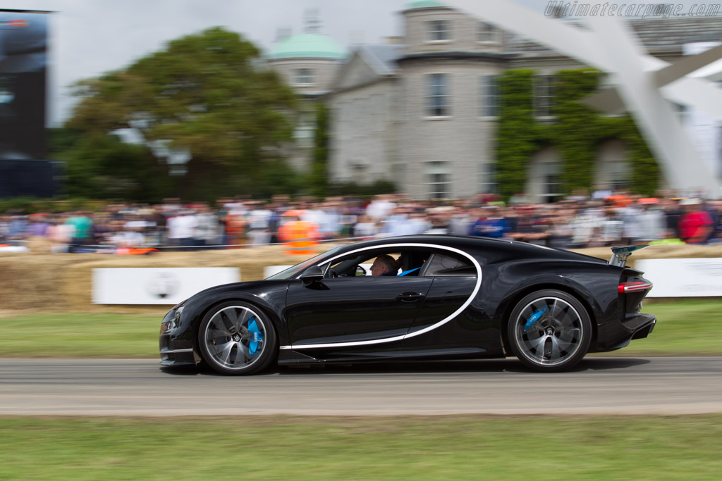 Bugatti Chiron    - 2016 Goodwood Festival of Speed