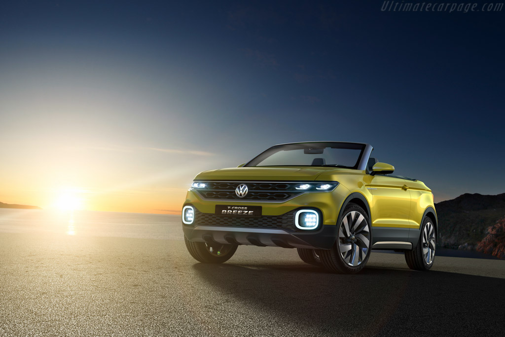 Click here to open the Volkswagen T-Cross Breeze Concept gallery
