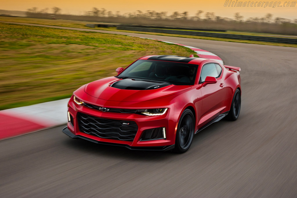 Click here to open the Chevrolet Camaro ZL1 gallery