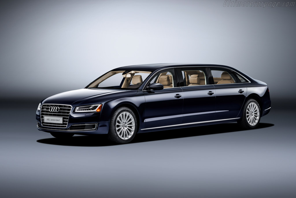 Audi A8 L Extended