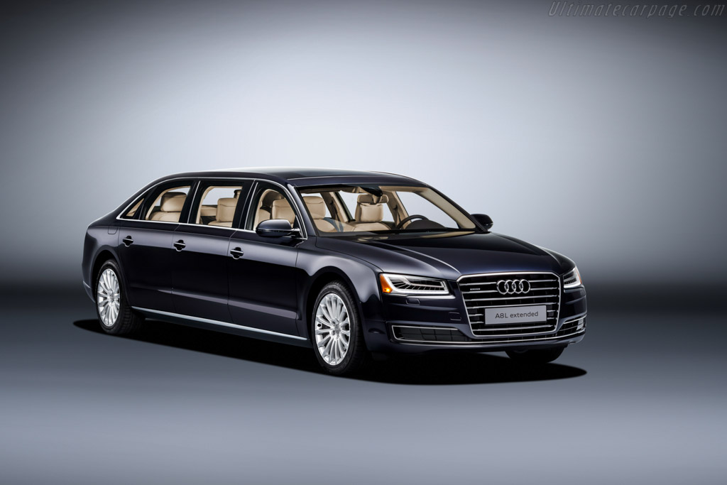 Click here to open the Audi A8 L Extended gallery
