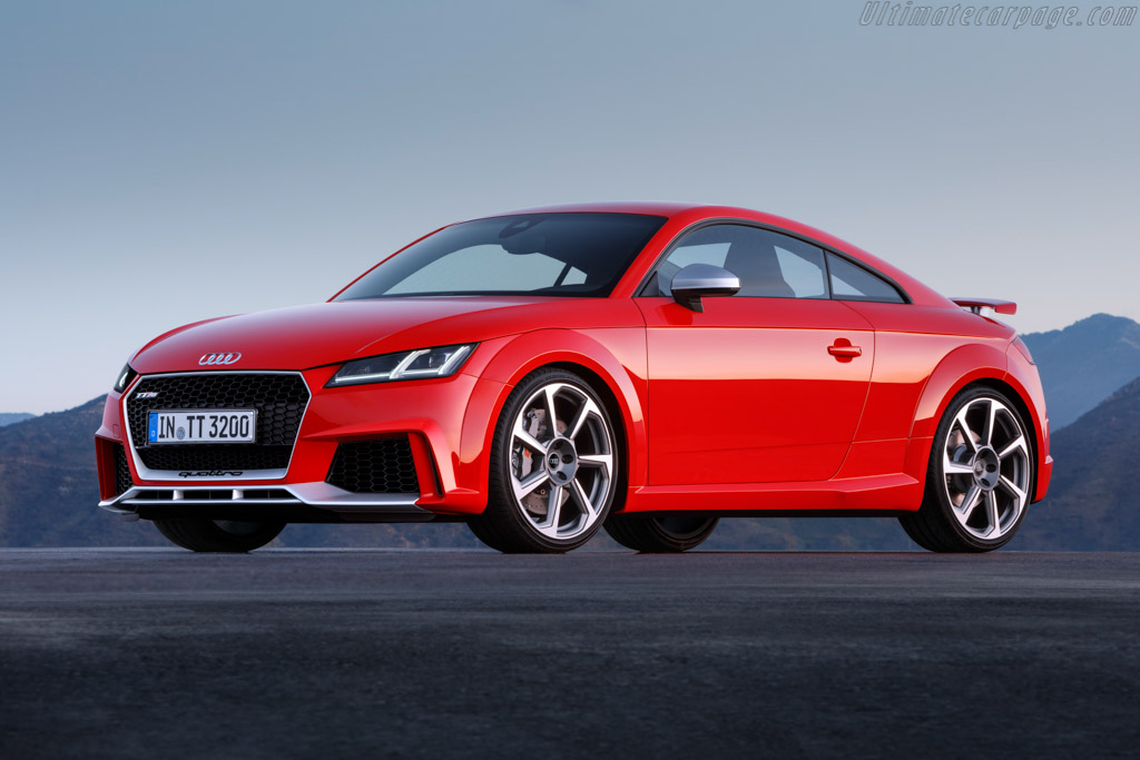 2016 Audi TT RS Coupé - Images, Specifications and Information