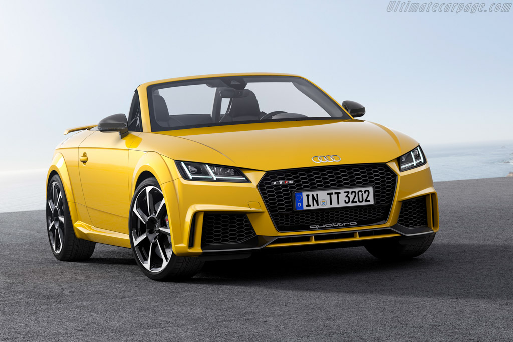2016 Audi TT RS Roadster - Images, Specifications and ...