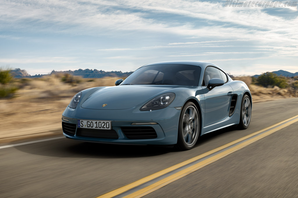 Click here to open the Porsche 718 Cayman gallery