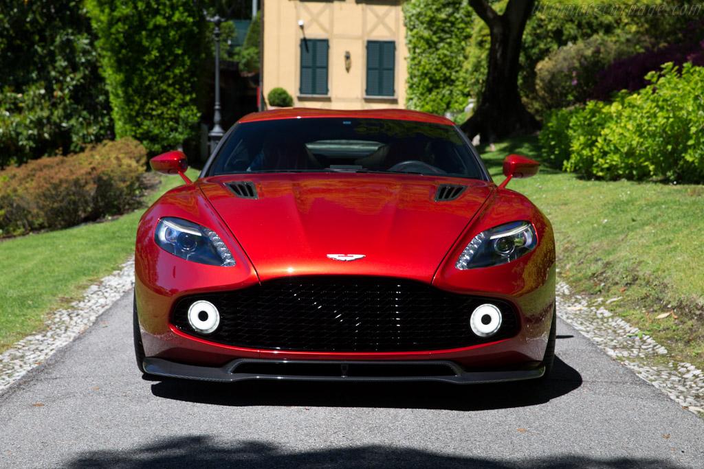 Aston Martin Vanquish Zagato Concept Chassis