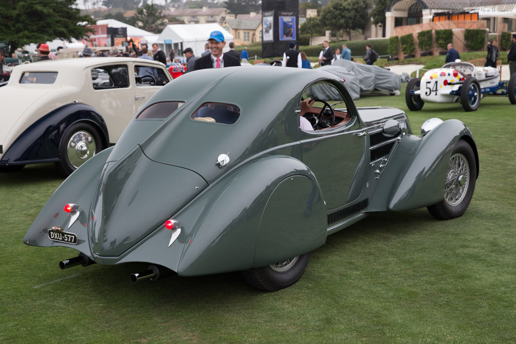 Lancia Astura Castagna Aerodinamica Coupe - Chassis: 30-101   - 2016 Pebble Beach Concours d'Elegance