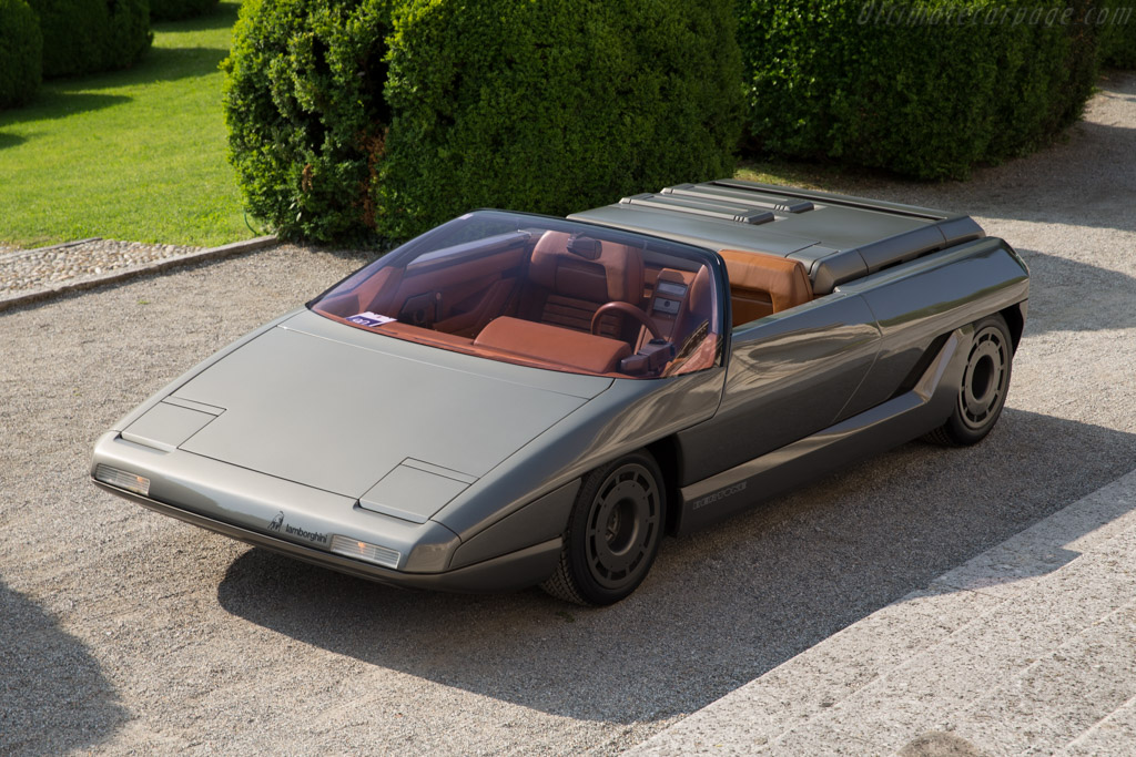 1980 Lamborghini Athon Concept Images Specifications