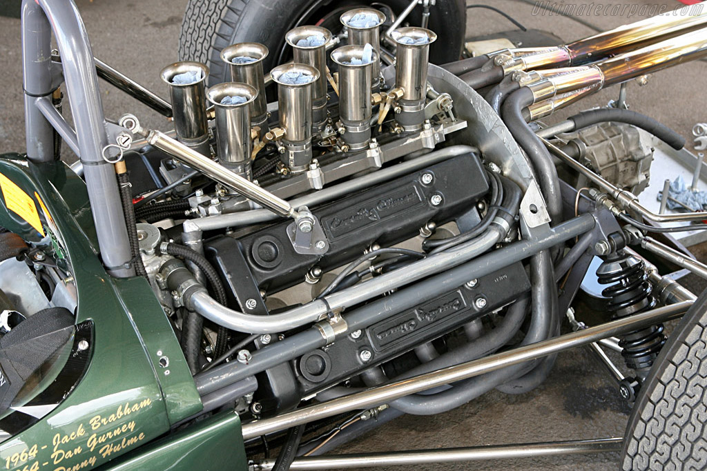 Brabham BT11 Climax - Chassis: F1-1-64   - 2006 Goodwood Revival