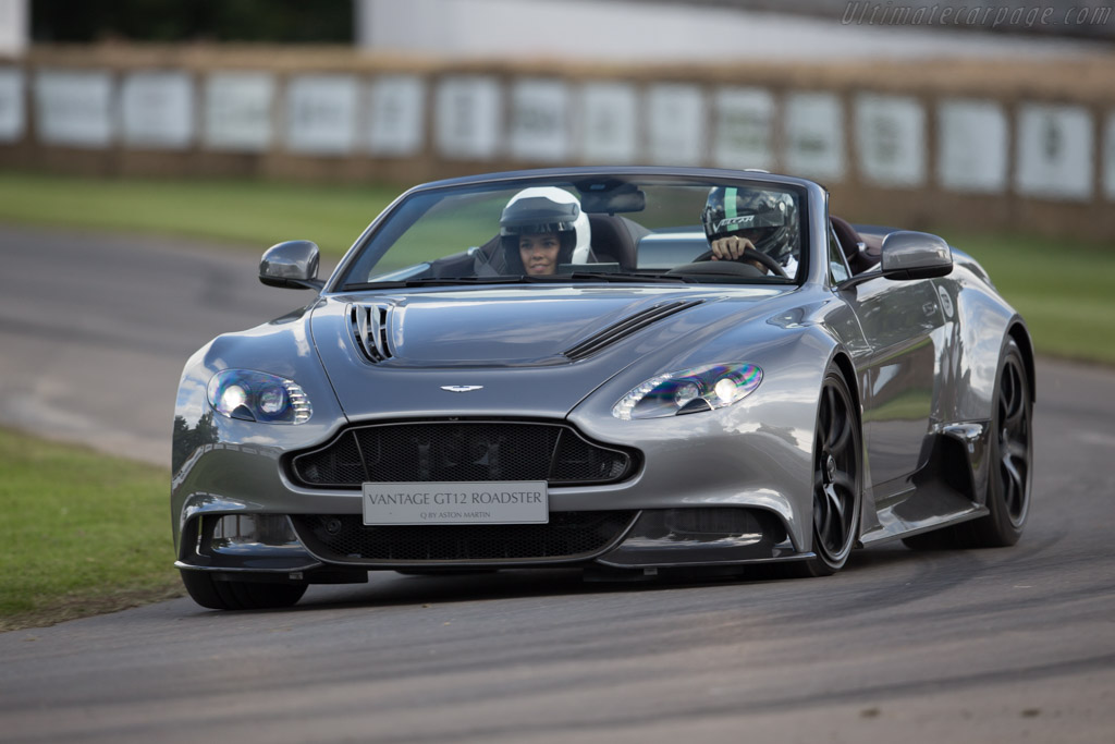 2016 Aston Martin Vantage Gt12 Roadster Images Specifications And Information