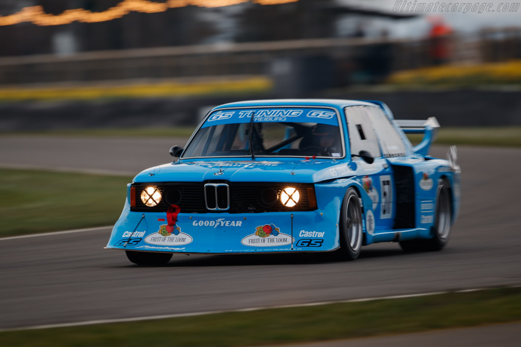 BMW 320 Group 5 - Chassis: E21-R1-08 - Driver: Kevin Abbring  - 2018 Goodwood Members' Meeting