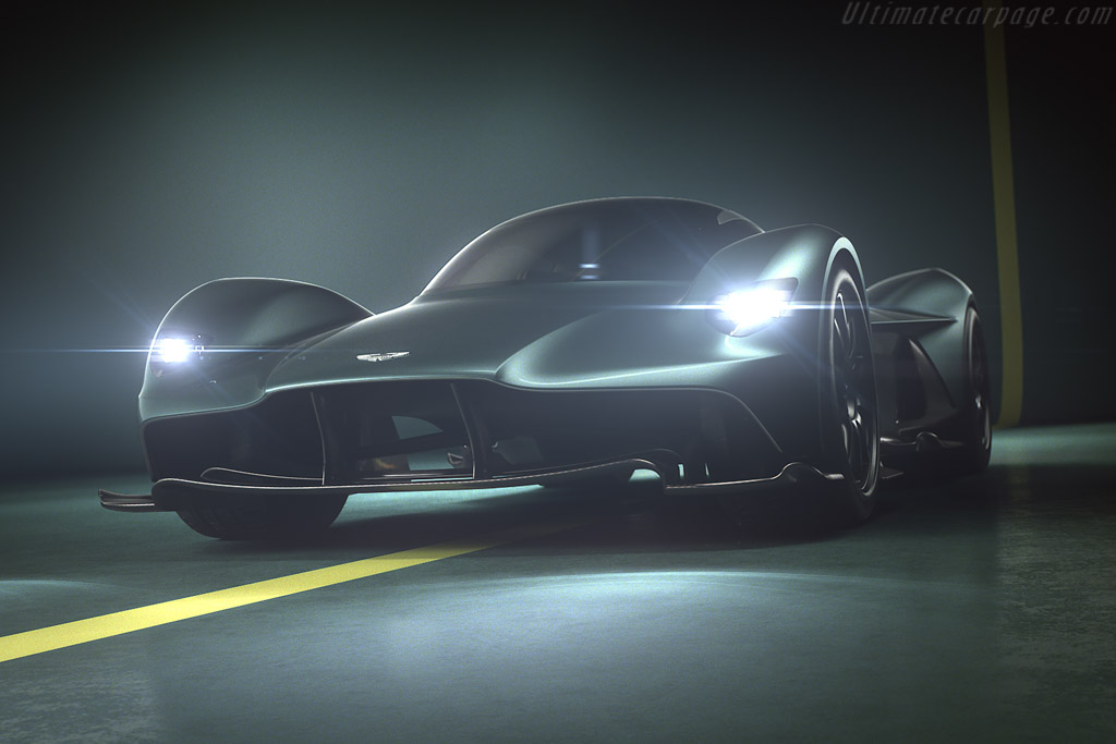 Click here to open the Aston Martin Valkyrie gallery