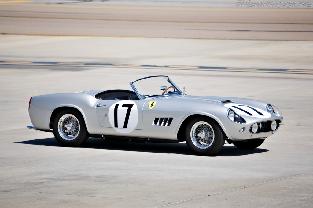 Click here to open the Ferrari 250 GT LWB California Spider Competizione gallery