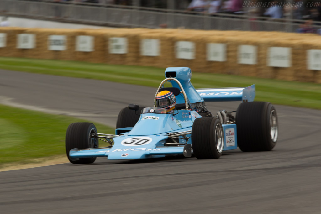 Amon AF101 Cosworth - Chassis: AF1/01 - Driver: Roberto Moreno  - 2015 Goodwood Festival of Speed