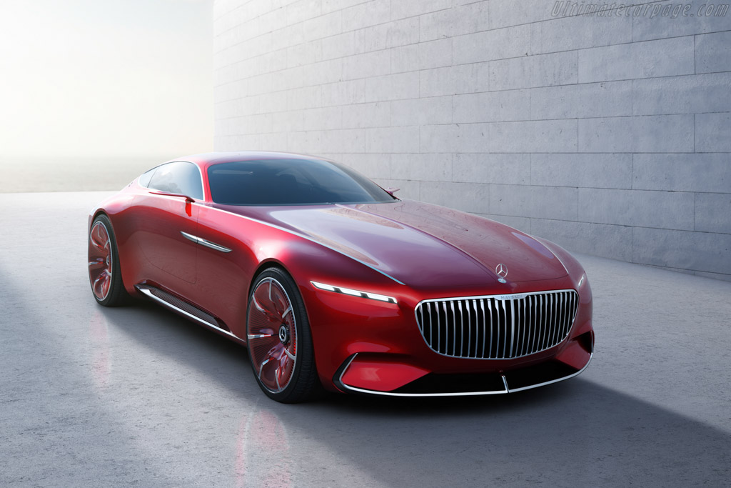 Click here to open the Mercedes-Maybach Vision 6 gallery