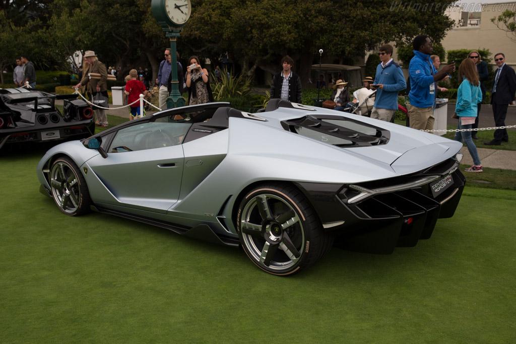 Lamborghini Centenario Roadster    - 2016 Pebble Beach Concours d'Elegance