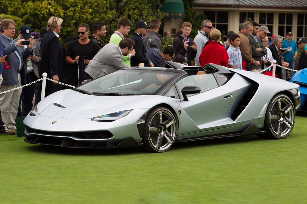 Click here to open the Lamborghini Centenario Roadster gallery