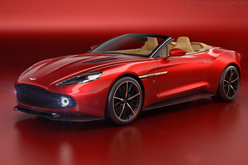 Click here to open the Aston Martin Vanquish Zagato Volante gallery
