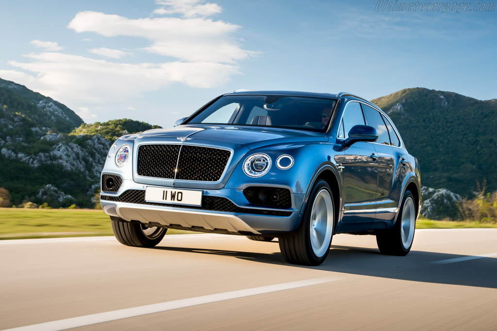 Click here to open the Bentley Bentayga Diesel gallery